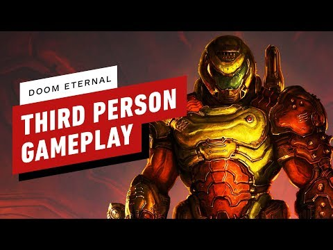 Doom Eternal Modded to Be Playable in Third-Person - Gameplay