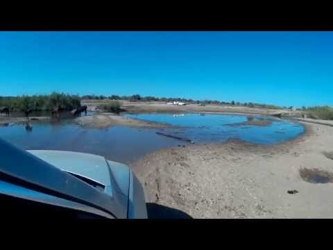Crossing Limpopo river Aug 2015