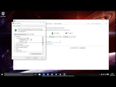 Windows 10 And 8.1 Power Settings - Improve Battery Life And Speed Up Computer
