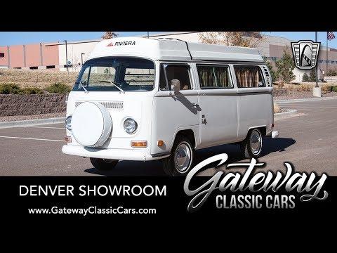 1970 Volkswagen Micro Bus Camper, Gateway Classic Cars - Denver #685