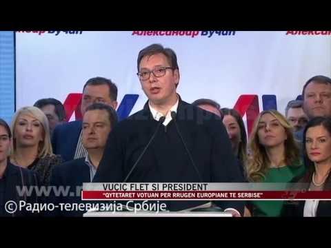 Vuçiç, fitues i zgjedhjeve presidenciale në Serbi - News, Lajme - Vizion Plus