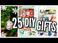 25 DIY Christmas Gifts 2016! Cheap & Easy Presents!