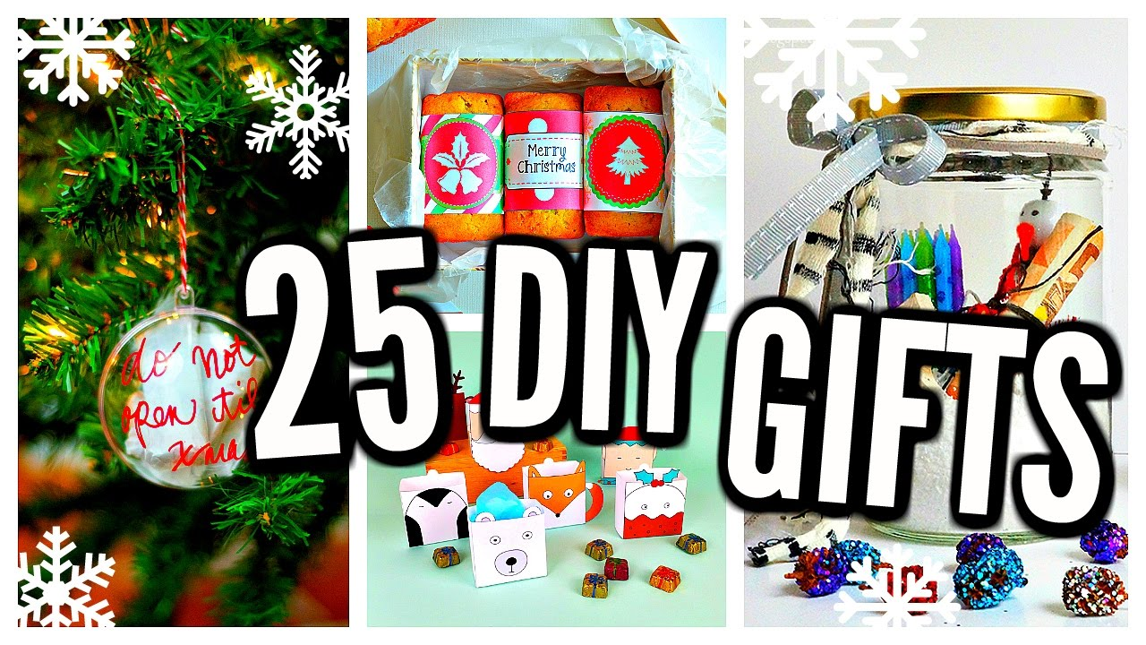 25 diy christmas gifts 2016 cheap easy presents youtube