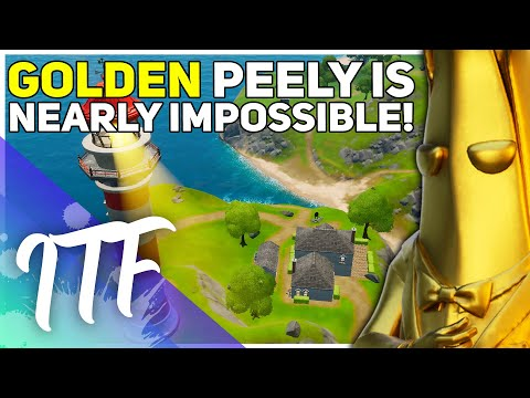 Golden Peely Is Nearly IMPOSSIBLE... (Fortnite Battle Royale)