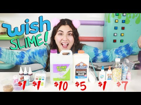 MAKING SLIME OUT OF WISH SLIME SUPPLIES ~.Slimeatory #492