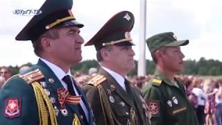 Видеофильм о Факультете военного обучения ЮУрГУ
