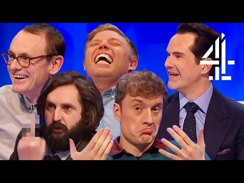 """It's a PEN, You Idiot!"" Best Bits from 8 Out of 10 Cats Does Countdown Series 18 