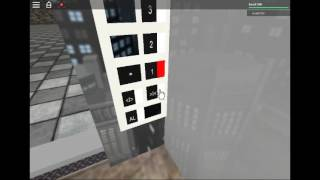 Schindler 3300 MRL Traction Glass Elevator at Roblox Mall à Roblox City