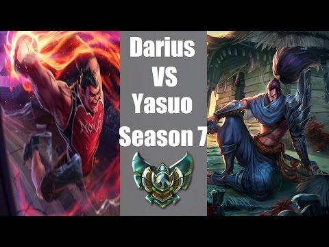 Darius Vs Yasuo | Season 7 | Full Live Commentary Gameplay