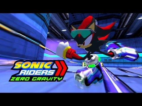 Sonic Riders Zero Gravity  MeteorTech Premises  Shadow 1080p 60 FPS