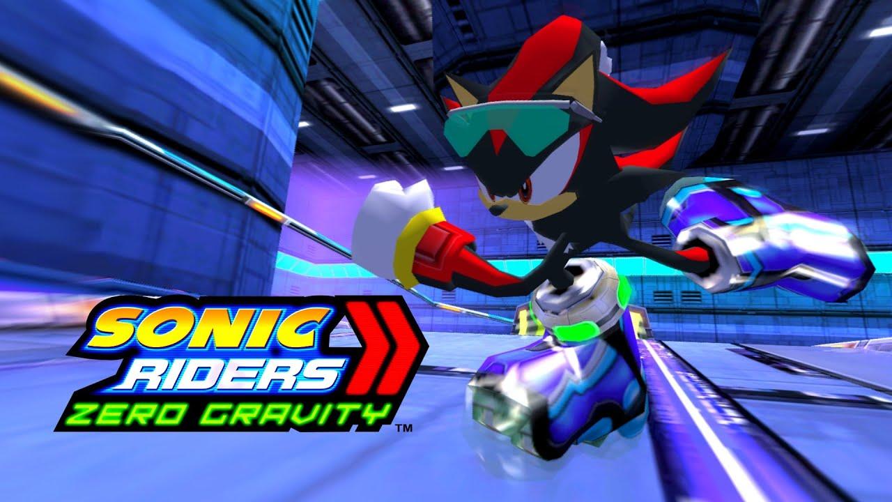 Sonic Riders Zero Gravity Meteortech Premises Shadow 1080p 60 Fps Youtube