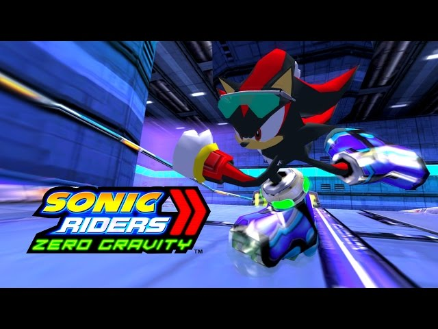 Sonic Riders Zero Gravity - MeteorTech Premises - Shadow 1080p 60 FPS