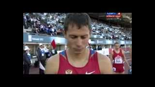 yuriy borzakovskiy 2012 800m european athletics championships helsinki  men final 1:48.61