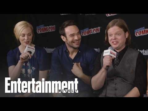 Daredevil: Charlie Cox & Cast On Season 2, The Punisher & More At NYCC 2015 | Entertainment Weekly