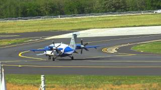 Executive Blue by Blue Panorama Airlines Piaggio P-180 Avanti Take off