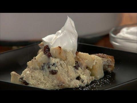 Apple Raisin Bread Pudding HD