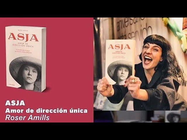 IB3 | Roser Amills presentava la seva novel·la sobre Asja, l'amant de Walter Benjamin