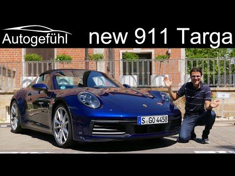 New Porsche 911 Targa 4S FULL REVIEW All-new 992 Targa 2021 - Autogefühl