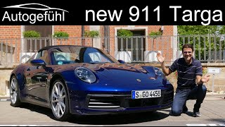 new Porsche 911 Targa 4S FULL REVIEW all-new 992 Targa 2021 - Autogefühl