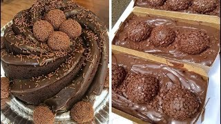 Easy And Delicious Chocolate Cake Decorating Ideas   So Yummy Chocolate Cake Video Compilation