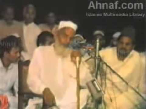 Qari Haneef Multani Urdu bayaan - Blind imam AWESOME!!!!