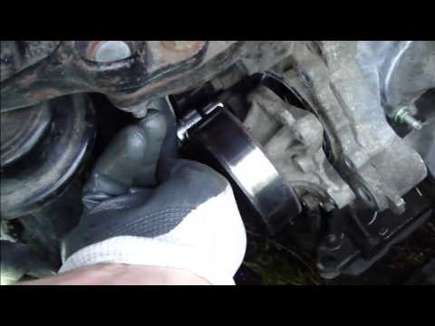 water pump replacement 02 11 toyota camry 2 4l doovi. Black Bedroom Furniture Sets. Home Design Ideas