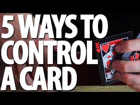 5 Ways to Control a Card - Tutorial