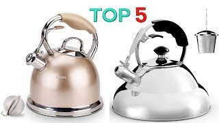 The 5 Best Stainless Steel Tea Kettles 2019 Reviews