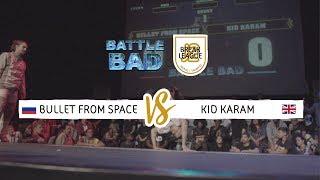 Bullet From Space vs Kid Karam - Półfinał 1vs1 na Battle Bad 2018