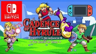 Cadence of Hyrule Crypt of the NecroDancer Featuring The Legend of Zelda