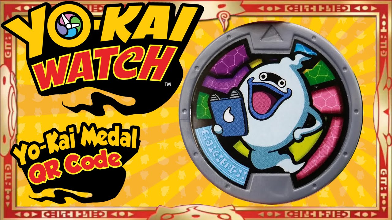Yo Kai Watch Yo Kai Medal Qr Codes Us Whisper Medal Tips
