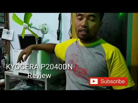 Kyocera P2040DN - Review Singkat