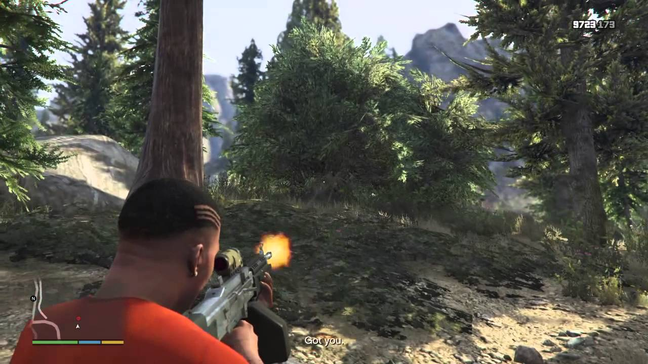 how to find bigfoot in gta 5 ps4