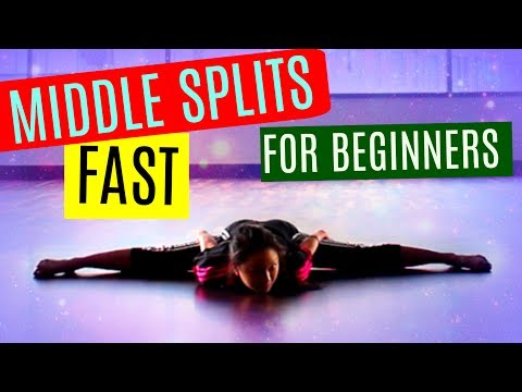the splits stretches middle splits flexibility workout