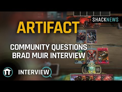 Valve's Brad Muir answers Chatty community questions about Artifact