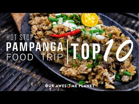 Pampanga Food Trip - Top 10 | Hot Stop