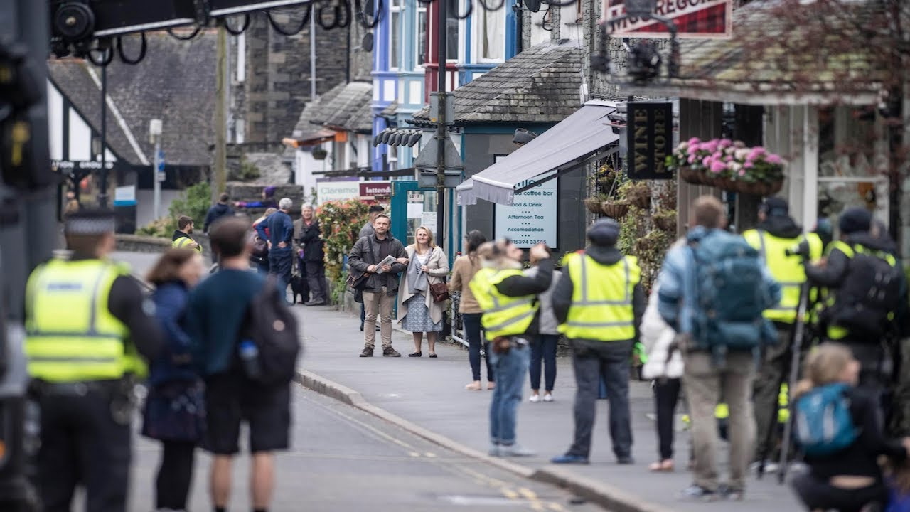Peter Rabbit 2 filming in Ambleside, The Lake District.