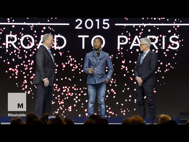 Al Gore and Pharrell announce new Live Earth concerts | Mashable