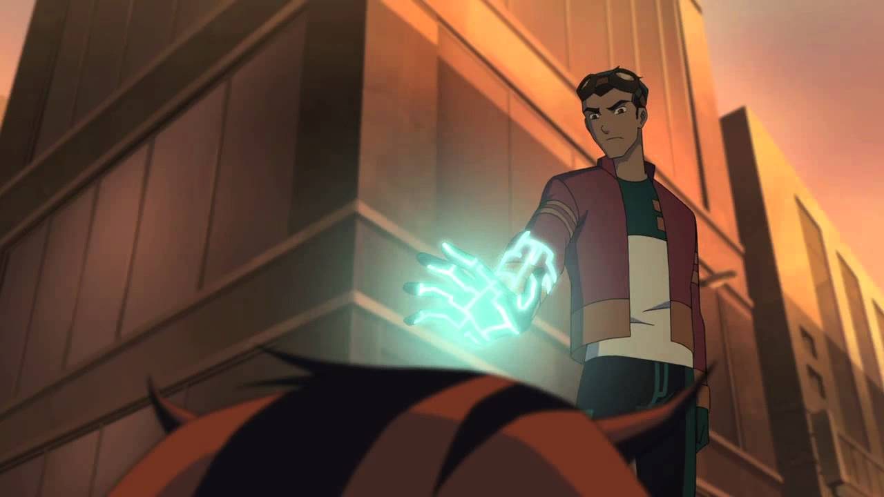 Heroes United Ben 10's Lodestar and Wrath help Generator Rex - YouTube