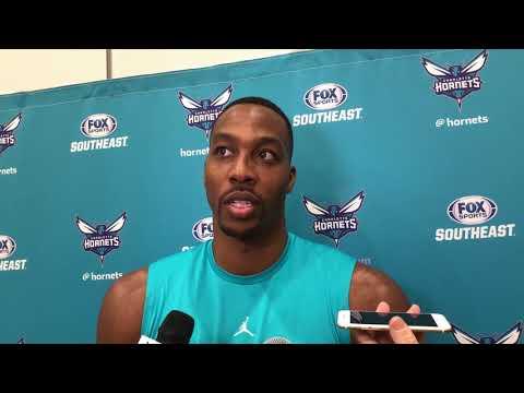 Charlotte Hornets center Dwight Howard on making defenses choose