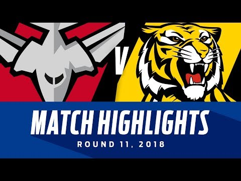 Essendon v Richmond Highlights | Round 11, 2018 | AFL