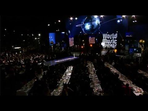 "Anggun ft Laurent Wolf ""No Stress"" LIVE HD @World Music Award , she is WMA WINNER 2014"