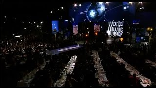 "Anggun ft Laurent Wolf ""No Stress"" LIVE HD @World Music Award , she is WMA WINNER 2014"