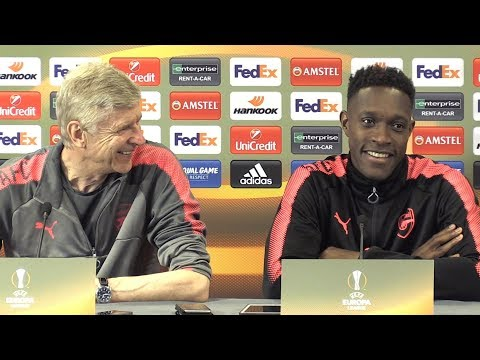Arsene Wenger & Danny Welbeck Pre-Match Press Conference - Arsenal v Atletico Madrid - Europa League