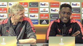 Arsene Wenger & Danny Welbeck Pre-Match Press Conference - Arsenal v Atletico Madrid - Europa League