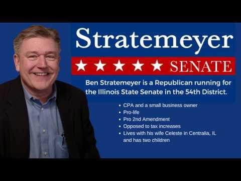 Benjamin Stratemeyer for Illinois State Senate