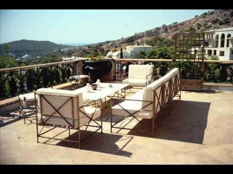 Έπιπλα κήπου Ηράκλειο Σαλόνια κήπου Ηράκλειο τραπέζια κήπου