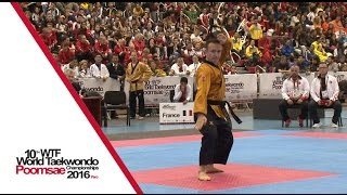 Under 60 Individual Male Final | Philippe MONTOSI (FRA) vs Mustafa YILMAZ (TUR)
