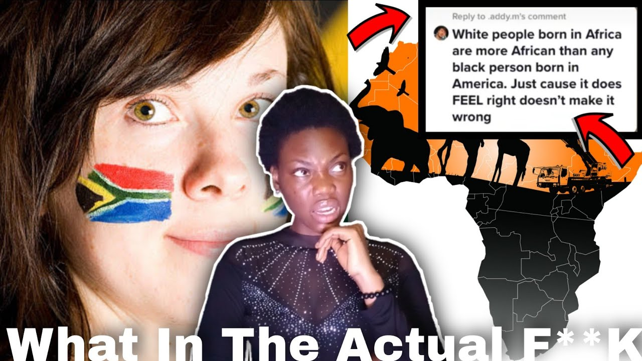 Download WHITE PEOPLE IN AFRICA SAY THEY ARE MORE AFRICAN THAN AFRICAN AMERICANS AND OTHER BLACK PEOPLE