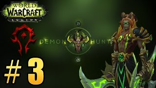Прохождение World of Warcraft: Legion (WoW) - Охотник на демонов - Танк. Встреча с Майев #3